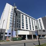 Embassy Suites uptown is on track