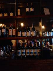 The wine bar at South End