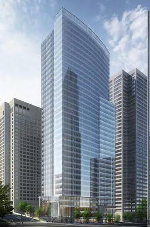 Schnitzer West has tweaked the design of Madison Centre, an office project in downtown Seattle near Fifth and Madison.