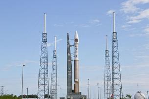 United Launch Alliance's Atlas V before the launch of SBIRS GEO-2.