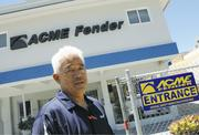 Dwayne Nasu, owner of Acme Fender, says he would sell for the right price.