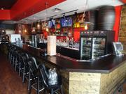 The bar at City Oven