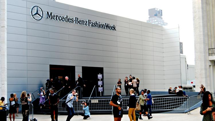 New York Fashion Week largely revolves around Lincoln Center.