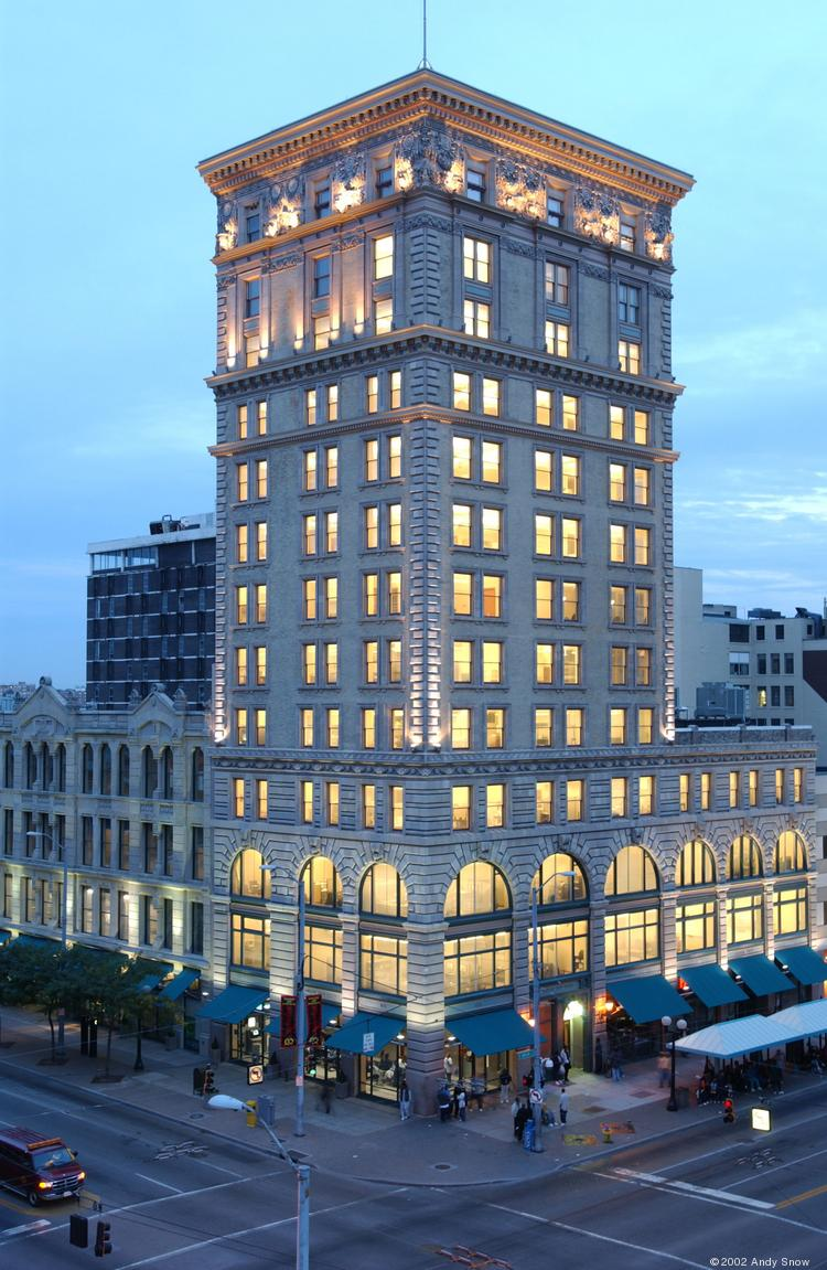Champlin Architecture, a firm with 60 employees in Cincinnati, opened an office in the top floor of the Wright Stop Plaza building at 4 South Main St.