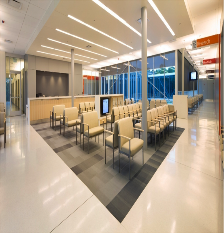 Giattina Aycock, which ranked on this week's List of Birmingham's largest interior design firms, was recently honored for its work on Cardiovascular Associates' clinic.