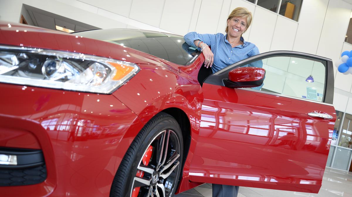 Katina rapton a driving force in the family business for Mel rapton honda sacramento ca