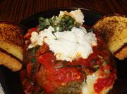 City Oven's giant meatball was one of its signature dishes.