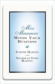 """""""Miss Manners Minds Your Business"""" will be released on Sept. 23, 2013."""