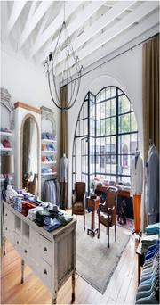 Louis Nequette won an adaptive reuse merit award for work on Shaia's clothing store. Bianco Lighting was a consultant on the project. General contractor was F.A. Bryant & Sons.