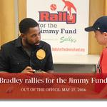 Out of the Office, May 27, 2016: Red Sox slugger Jackie Bradley Jr. rallies for the Jimmy Fund