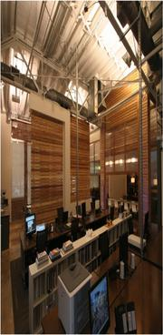 LIVE Design Group won an honor award in the Under $300,000 category for its work on its office. Consultants included Hyde Engineering. General contractor was Sloss Development Group.