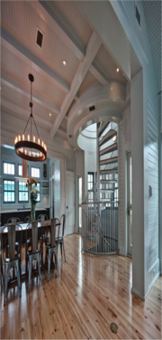 Williams Blackstock Architects took home a residential honor award for its design of this residence in Seaside, Fla. The structural engineer was Anderson Engineers PA and the general contractor was Arkon Group Inc.
