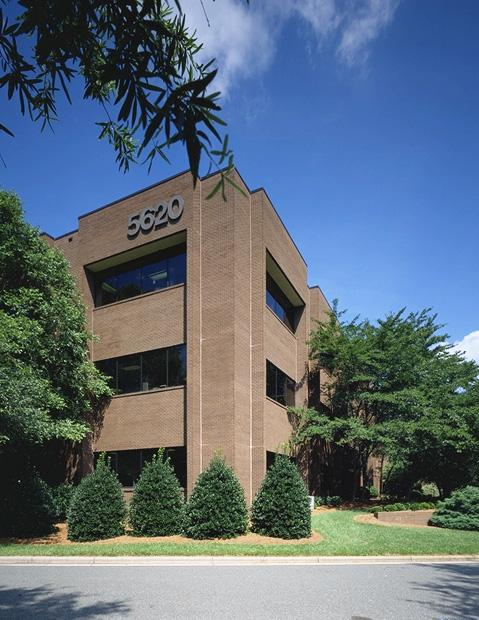 One of the buildings that will be leased by National General Insurance at Madison Park in Winston-Salem.