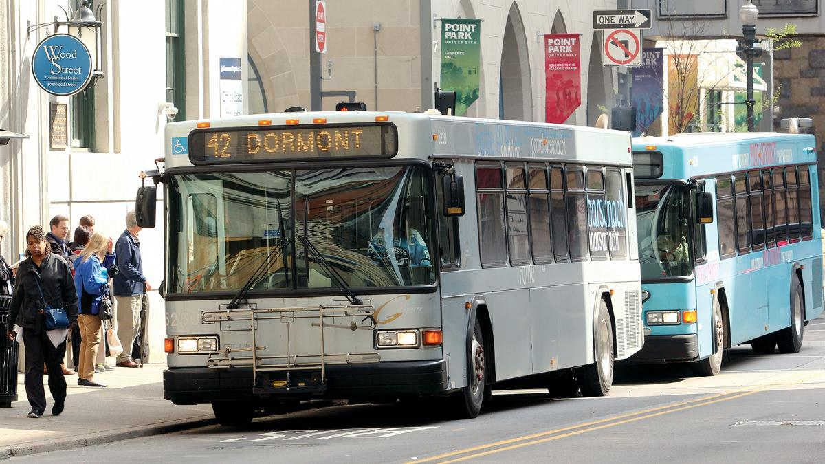Port authority of allegheny county buys 25 new buses pittsburgh business times - Pittsburgh port authority ...