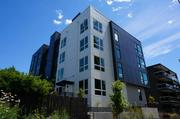 This is Footprint's One One 6 micro-suite project at 315 10th Ave., on First Hill in Seattle.