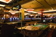 The Horseshoe has 120 gaming tables and some 3,000 slot machines.