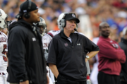 """Steve Spurrier   High point: After a 7-9 season in his first year, Spurrier came out of the gates hot in 2003, starting 2-0. It was short lived, as the team would lose four of its next five and finish the season 5-11. The season was marred by a revolving door at quarterback, which featured stints from Patrick Ramsey, Danny Wuerrfel and Shane Matthews.   Low point: Spurrier's bizarre press conference after resigning when the 2003 season was over. Listen to the audio when have a chance. It's complete with shoutouts to the University of Florida (Spurrier's job prior to the Redskins gig), praise for the kicking team above any other offensive unit and the word """"dadgum."""" He would go on to coach the University of South Carolina, where he still holds the head coach position."""