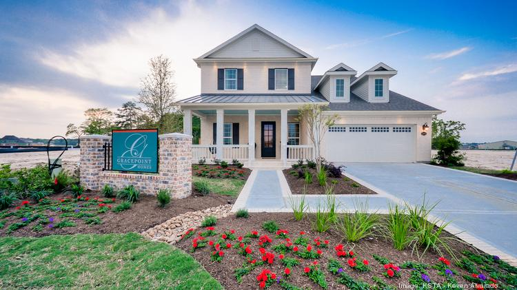 Gracepoint homes launches stillwater community in houston for Low country style homes