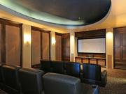 The media and entertainment room.