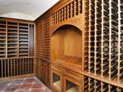 The wine cellar can hold 1,500 bottles.