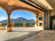 A view out to Camelback Mountain.