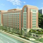 B.F. Saul kicks off Homewood Suites project at Rosslyn's Colony House corner