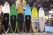 SUP boards are big in popularity, and in size. People often take their kids and pets out on their boards.