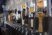 Yard House at The Banks has 160 beers on tap. Local favorites including Mt. Carmel, Rivertown, Angry Orchard and Christian Moerlein are among them.
