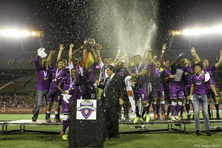 The Orlando City Soccer Club Lions took home their second United Soccer League Pro championship earlier this year.