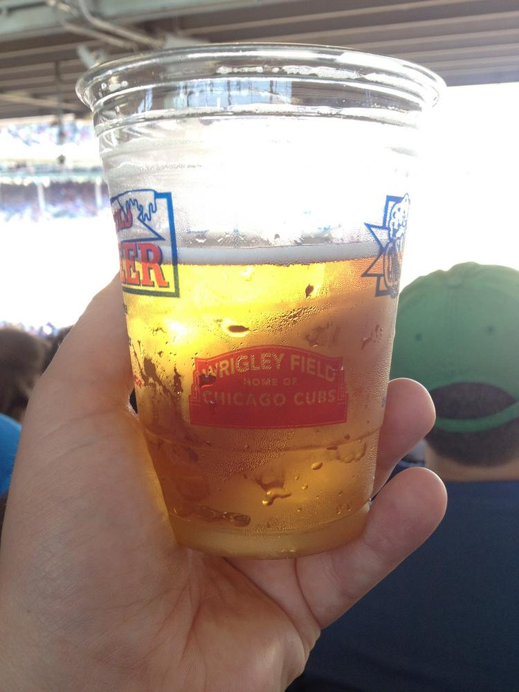 Old Style beer has become a beer of choice at Wrigley Field.