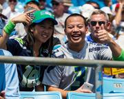 Seattle Seahawks fans come out in strong numbers, even on the road.