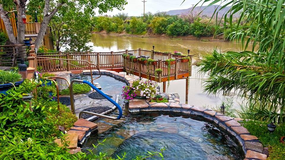 Riverbend Hot Springs In Truth Or Consequences Embraces