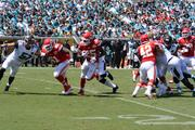 Chiefs running back Jamaal Charles breaks loose for a gain deep into Jaguars territory, setting up a touchdown.