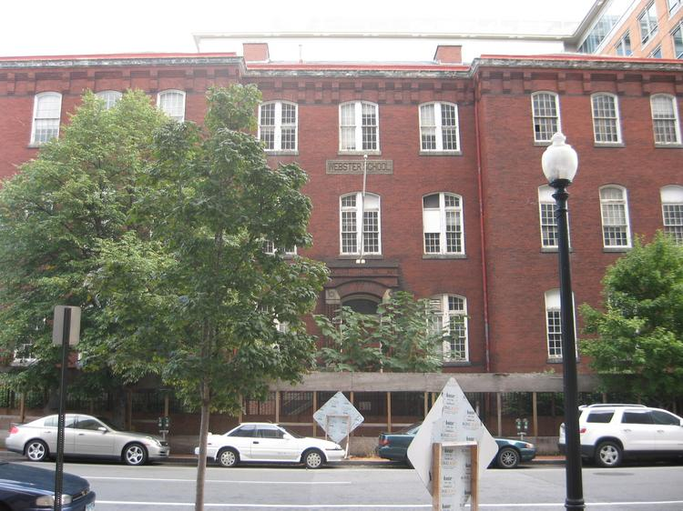The General Services Administration is weighing the potential sale of the former Daniel Webster School at 940 H St. NW.