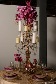 A display for an event planner at The Event Gallery.
