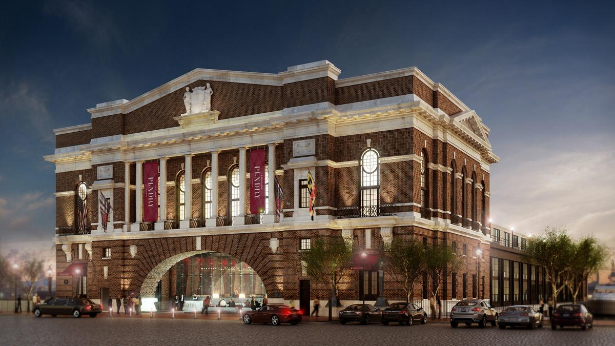 Kevin Plank S Rec Pier Hotel In Fells Point To Be Named Sagamore Pendry Baltimore Business Journal