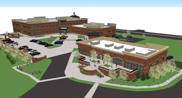 Developers are planning more than 70,000 square feet of retail and restaurant development north of Christ Hospital's new $52 million outpatient center in Montgomery.