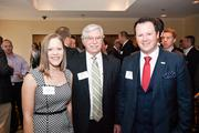 Dew Tinnin, of Southwestern Consulting, left to right, with Bob Sircy Jr. of Southwestern Investment Group, and Dustin Hillis of Southwestern Consulting.