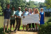SweetWater Brewing Co. held its End of Summer BBQ event at Canoe over the weekend and brought a gift for Chattahoochee Riverkeeper.