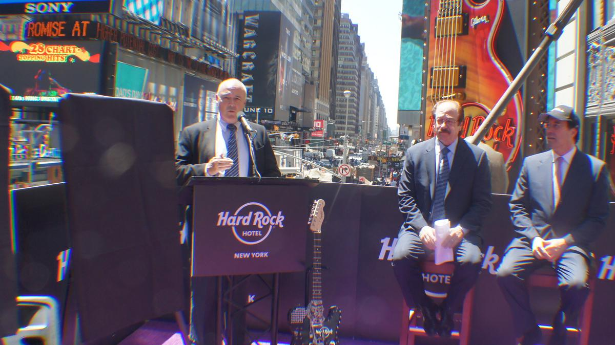 Hard Rock Hotel to open in NYC as company puts focus on hotels and
