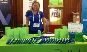 Carolyn Betts, founder of Betts Recruiting, at today's TechCrunch Disrupt.