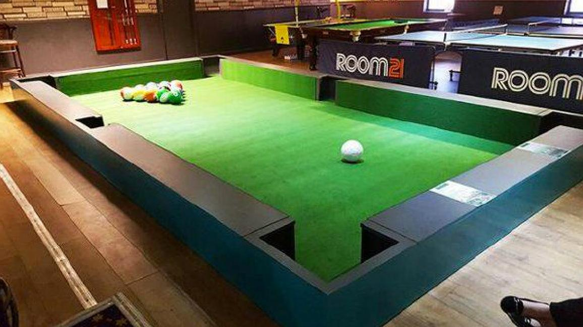 Introducing Snookball The Billiards Soccer Game Coming To