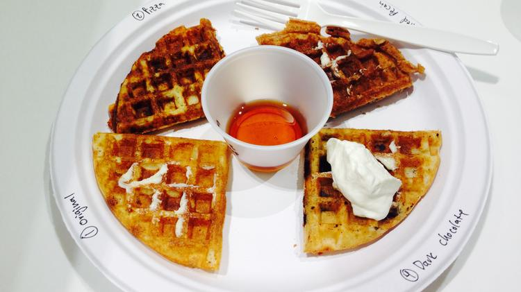 From pizza-flavored waffles to tofu chips: Did we find the next big thing in food?