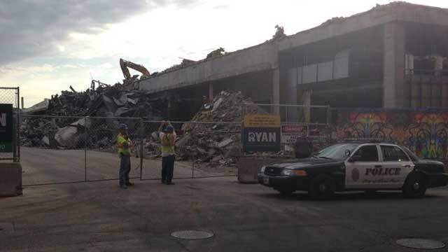 A worker was killed Tuesday morning at the St. Paul Lowertown stadium construction site.
