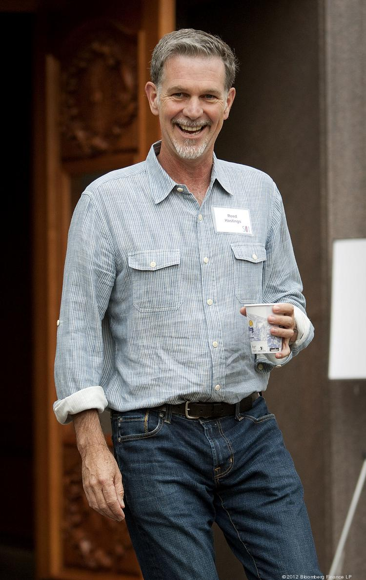 Netflix CEO Reed Hastings splits his time between upending Hollywood and trying to reform education.