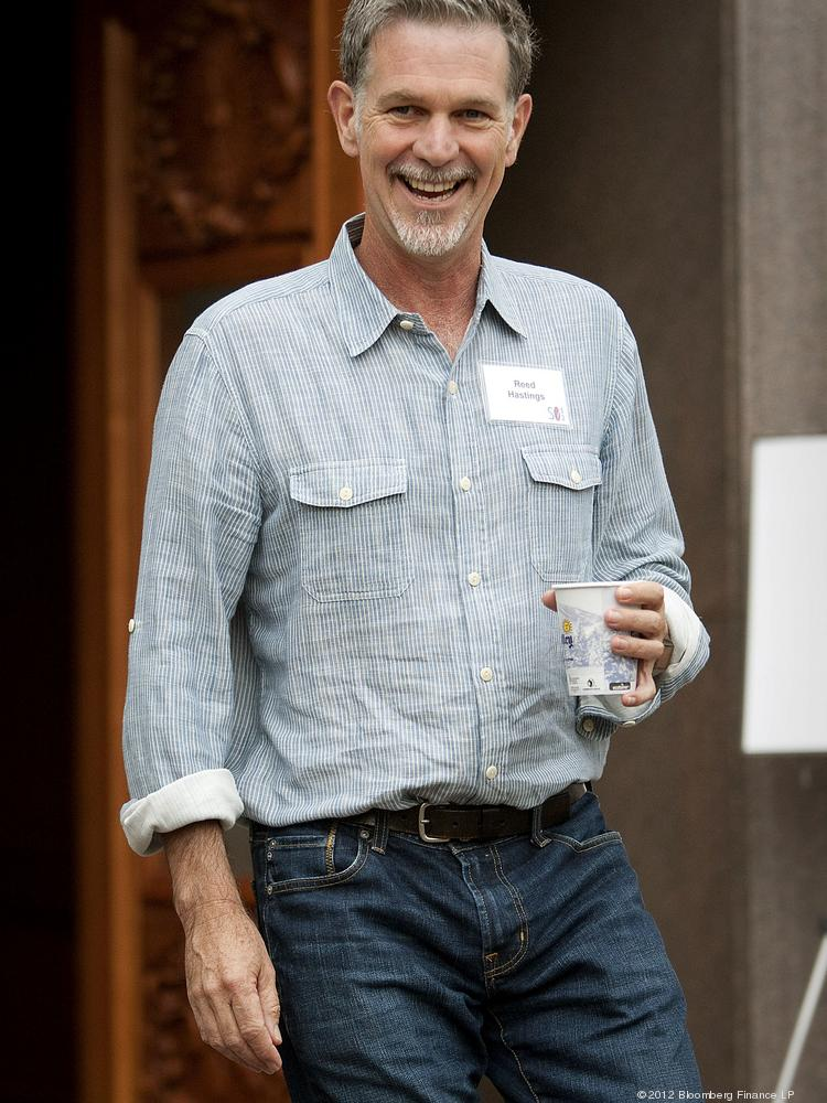 Reed Hastings, president and chief executive officer of Netflix Inc., may see his role divided in two if investors vote to split the CEO and chairman positions.