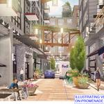 Pedestrian promenade planned for Eckington Yards will be for drivers, too
