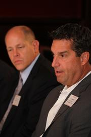 Kurt Dooley, general sales manager, Reeves Import Motorcars (left) and Robert Murray, general manager, Mercedes-Benz of Tampa