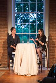 The S&R Foundation hosted the second event in its Illuminate series, this time featuring entrepreneurs Patrick Dowd of the Millennial Trains Project and Meaghan Rose of RocksBox discussing the journey and risks they took to bring their business visions to life. The event was held on Aug. 22 at the Evermay estate.