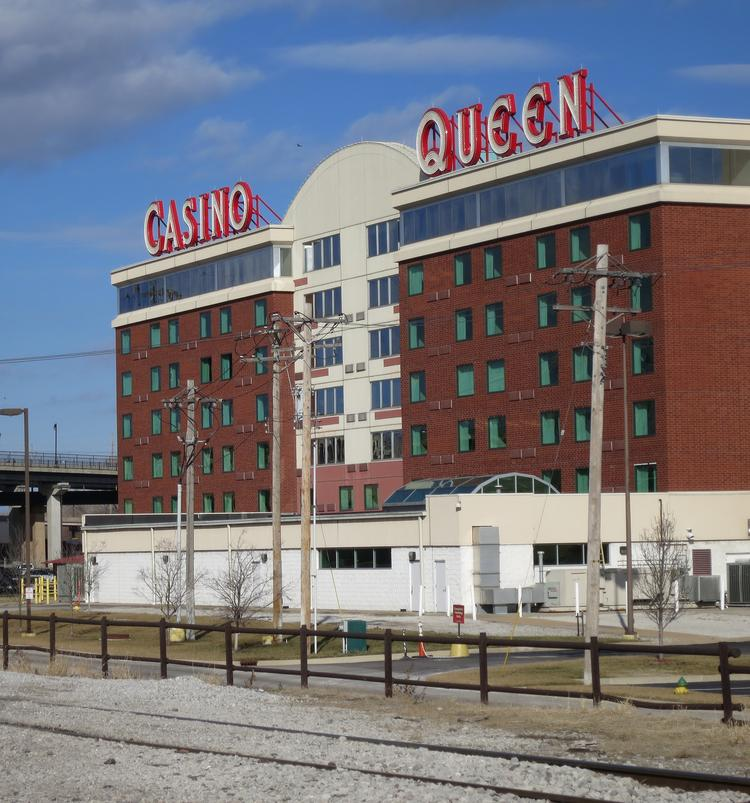 The Casino Queen in East St. Louis, IL, cannot stay open 24 hours, unlike its competitors in Missouri.